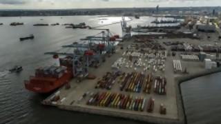 """Se reaviva el conflicto en el puerto: """"nos cayó como un balde de agua fría que la empresa levantara todo lo acordado"""" - Entrevistas - DelSol 99.5 FM"""