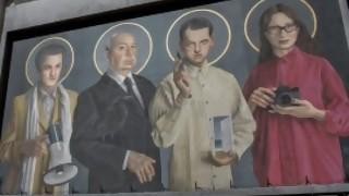 ¿Quiénes están en la fachada de Cinemateca? - Entrada en calor - DelSol 99.5 FM