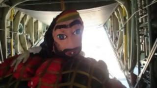 La historia del Rasta, el cabezudo que viajó en Hércules - Audios - DelSol 99.5 FM