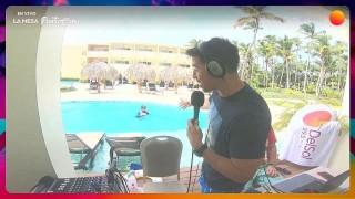 La mesa se tiró al agua en Punta Cana - La Charla - DelSol 99.5 FM