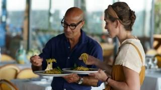 El viaje culinario de Stanley Tucci - La Receta Dispersa - DelSol 99.5 FM