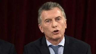 Macri fue al Congreso a pedir paz - Audios - DelSol 99.5 FM