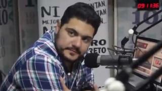 Frank McGregory con el Chiquito Bertolini - Audios - DelSol 99.5 FM