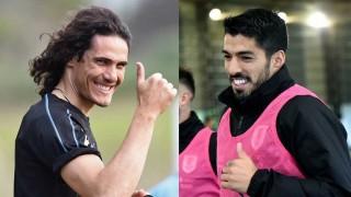 Cavani y Suárez en Locos por el Fútbol - Imitaciones - DelSol 99.5 FM