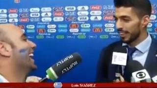 A pedido de Luis Suárez, Iñaki Abadie se queda en Rusia - Especiales - DelSol 99.5 FM