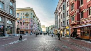 Pablo por el barrio Arbat de Moscú - Audios - DelSol 99.5 FM