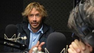 """""""'Golpista' es lo más lindo que me han dicho en los últimos años. Son tan graciosos"""" - NTN Concentrado - DelSol 99.5 FM"""