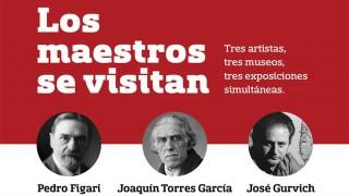 Torres García, Gurvich y Figari se visitan en una muestra - Audios - DelSol 99.5 FM