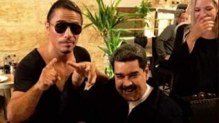 Maduro saltó a dictador africano con el Marc Anthony del peceto