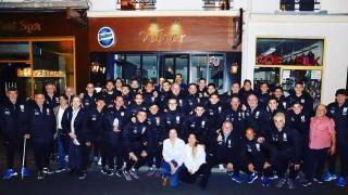 El profe y Bienvenido hablaron con el dueño del restorán parisino donde comió la selección - Deporgol - DelSol 99.5 FM