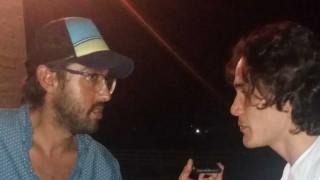 Cavani mano a mano con 13a0 - Entrevistas - DelSol 99.5 FM