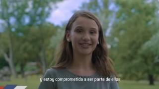 Maite Progre, la niña profeta del spot del FA - Columna de Darwin - DelSol 99.5 FM