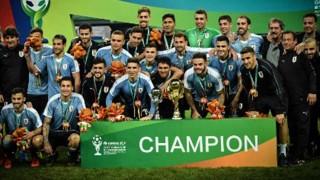 Uruguay campeón de la China Cup 2019 - Titulares y suplentes - DelSol 99.5 FM