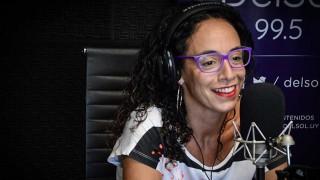 """Emilia Díaz: """"Lo que más me gusta es comunicar y ser transmisora de algo"""" - La Entrevista - DelSol 99.5 FM"""