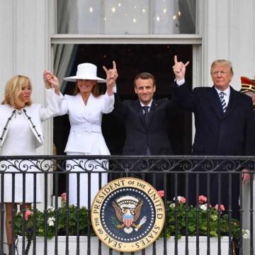 El anali internacional sobre el intercambio swinger entre Macron y Mr. Mongui