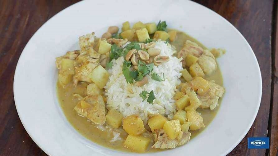 Arroz con pollo al curry - Gourmet - Videos | DelSol 99.5 FM