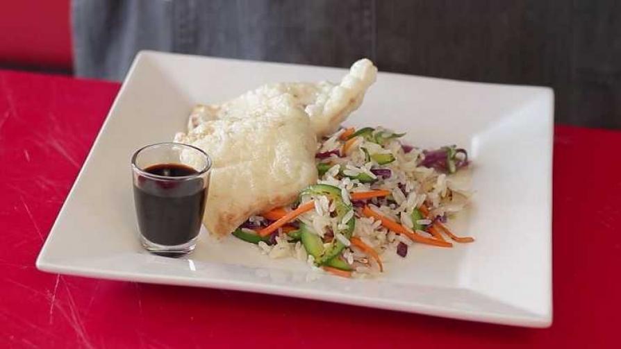 En la cocina de Martín Schwedt: corvina rubia en tempura - Gourmet - Videos | DelSol 99.5 FM