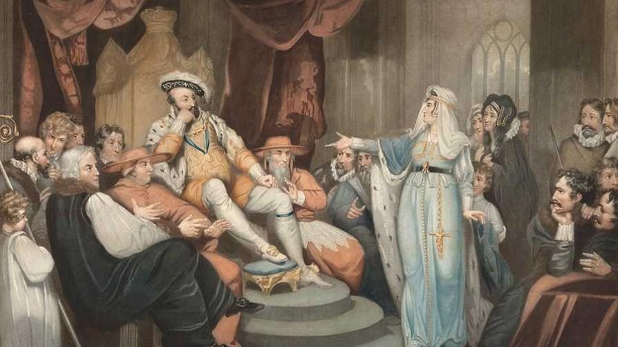 La peculiar unión de Enrique VIII de Inglaterra con Catalina de Aragón - Segmento dispositivo - La Venganza sera terrible | DelSol 99.5 FM