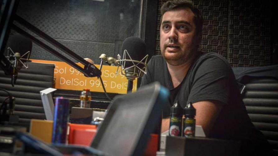 Vapeo en Uruguay - Yo quiero a mi bandera - Facil Desviarse | DelSol 99.5 FM