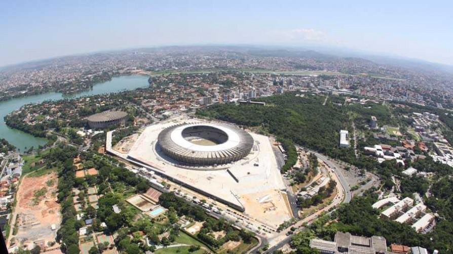 Gonza llegó a Belo Horizonte - Informes - 13a0 | DelSol 99.5 FM