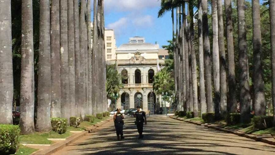 Gonzalo en la Plaza de la Libertad de Belo Horizonte - Audios - Quién te Dice | DelSol 99.5 FM