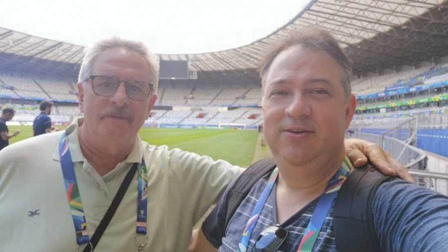 El Profe Piñeyrúa habla de la estadía celeste en Brasil - Audios - Locos x el Fútbol | DelSol 99.5 FM