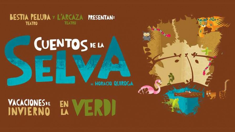 """Cuentos de la selva"" en Sala Verdi - Audios - Quién te Dice   DelSol 99.5 FM"
