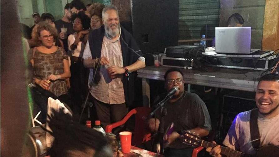Gonzalo habló sobre Roda de Samba en Pedra do Sal - Audios - Quién te Dice | DelSol 99.5 FM
