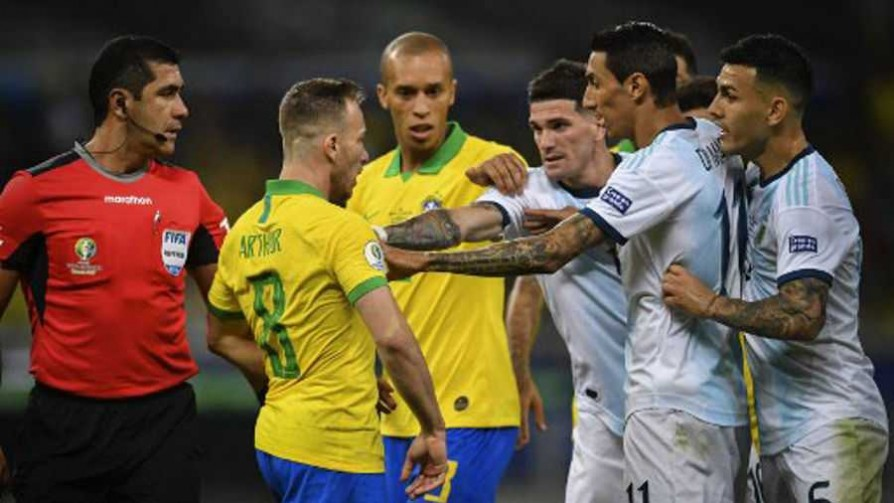 La semifinal entre Brasil - Argentina y el VAR en discusión - Audios - 13a0 | DelSol 99.5 FM