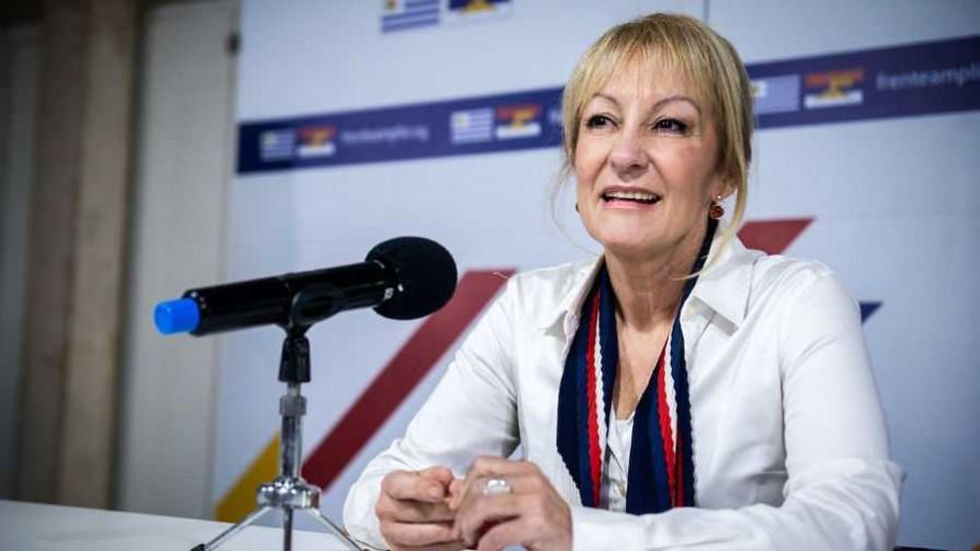 La conferencia de prensa de Carolina Cosse tras definición de la fórmula del FA - Titulares y suplentes - La Mesa de los Galanes | DelSol 99.5 FM