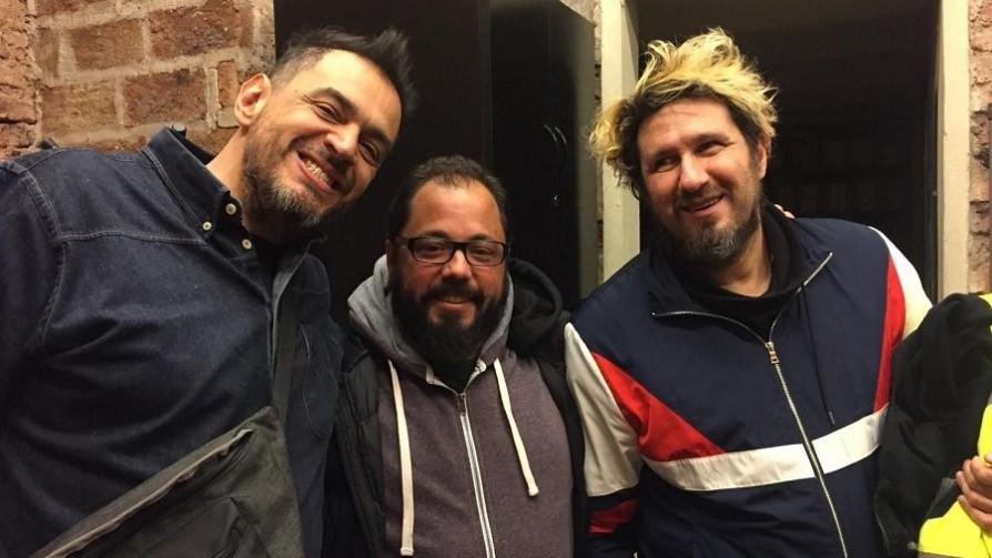 Gonzalo con los Decadentes en Buenos Aires - Audios - Quién te Dice | DelSol 99.5 FM
