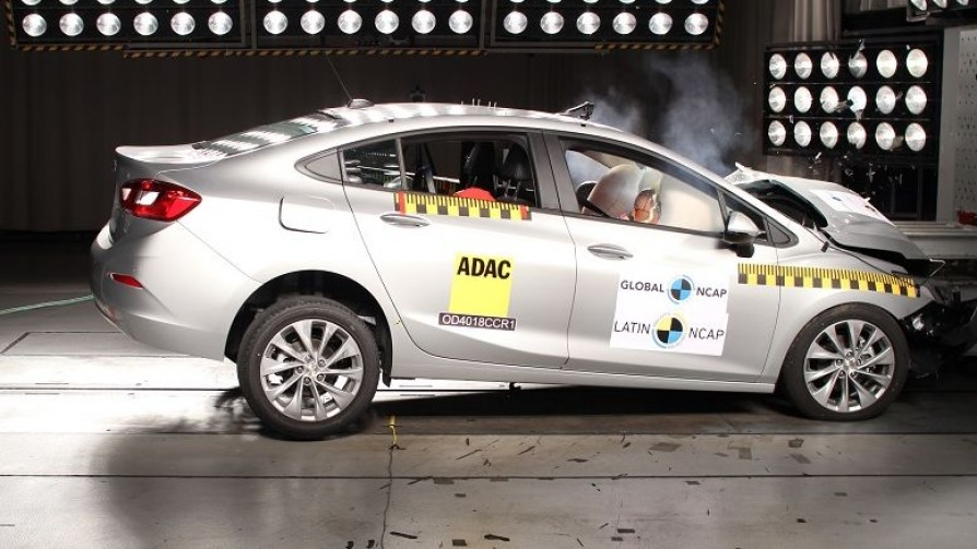 Latin NCAP: la importancia del primer 5 estrellas en seguridad para Chevrolet - Audios - No Toquen Nada | DelSol 99.5 FM