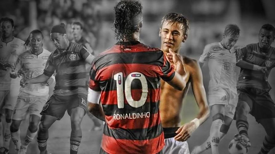 Fútbol y arte: Ronaldinho y Neymar - Informes - 13a0 | DelSol 99.5 FM