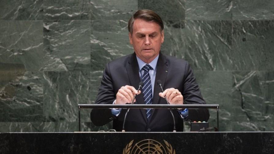 Dictadura, socialismo y Amazonia en el discurso de Bolsonaro en la ONU - Denise Mota - No Toquen Nada | DelSol 99.5 FM