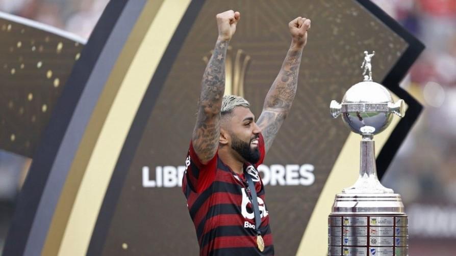 Gabigol en Locos luego de ganar la LIbertadores - Entrevistas - Locos x el Fútbol | DelSol 99.5 FM