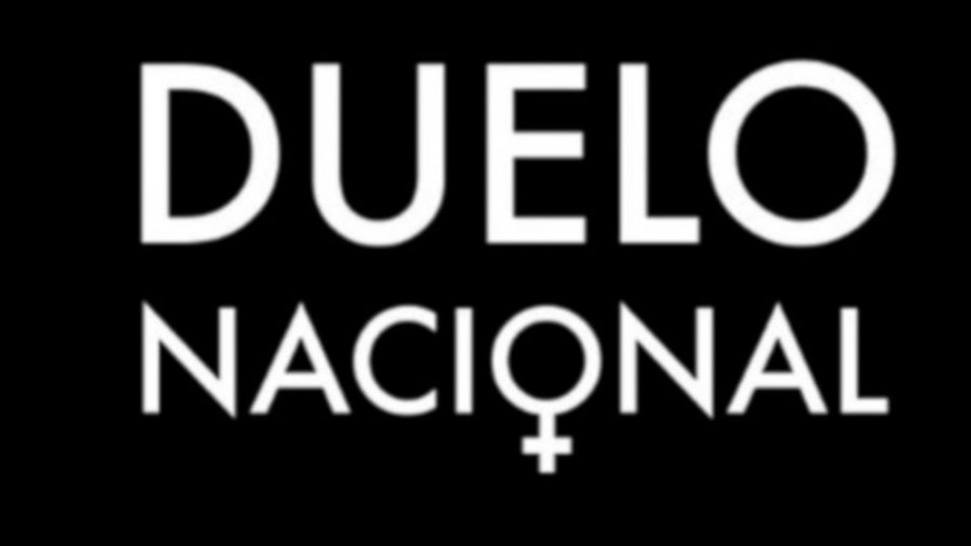 Duelo nacional por los 19 femicidios cometidos en 2019 - Titulares y suplentes - La Mesa de los Galanes   DelSol 99.5 FM