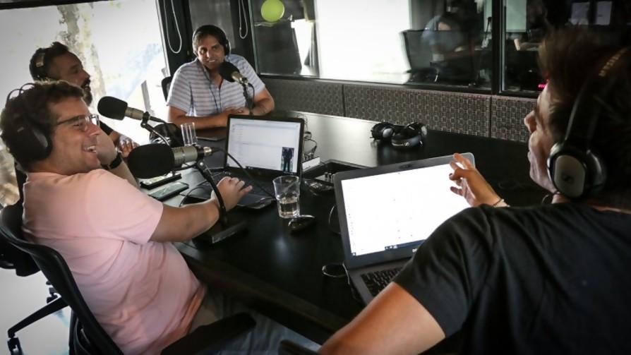 Jorge Carlos pidió una ensalada y desató una charla sobre veganismo - La Charla - La Mesa de los Galanes   DelSol 99.5 FM
