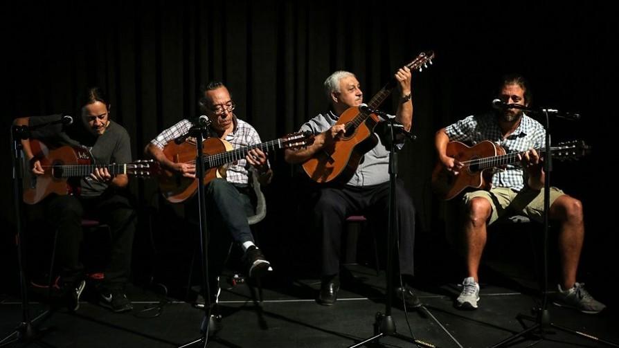Cuatro guitarras montevideanas y un lujo para No toquen nada - Entrevistas - No Toquen Nada | DelSol 99.5 FM