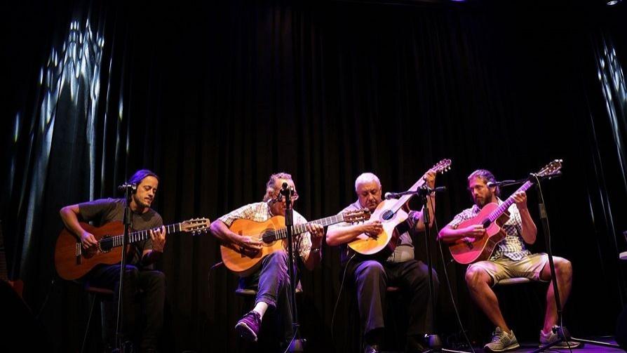 Guitarras Montevideanas en vivo desde Magnolio y la cara de Inspector Larry - NTN Concentrado - No Toquen Nada   DelSol 99.5 FM