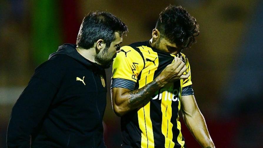 ¿Cuánto influye la lesión de Urretaviscaya en Peñarol? - Informes - 13a0   DelSol 99.5 FM