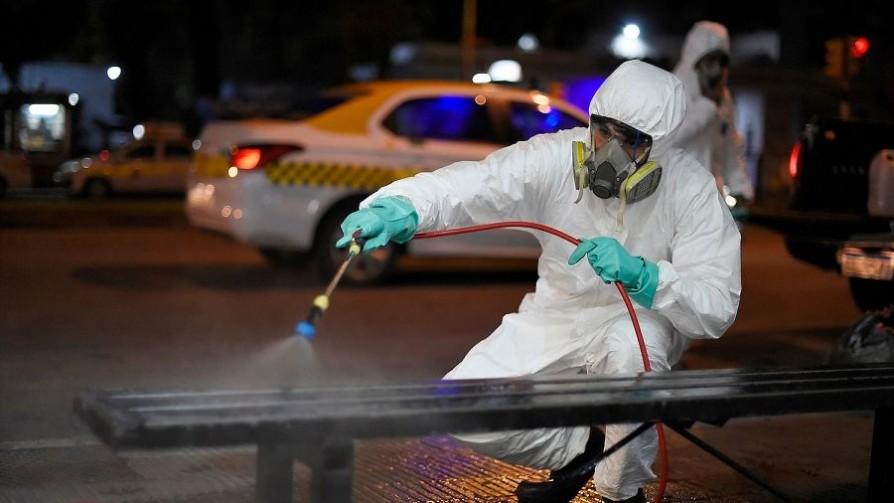 La OMS dice que el covid-19 no se transmite por aire y recomienda no desinfectar calles - Informes - No Toquen Nada   DelSol 99.5 FM