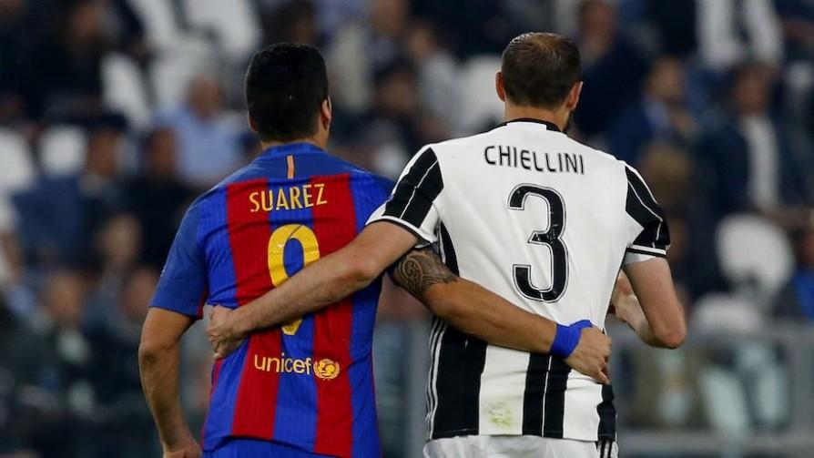 ¿Héroe o villano? La reacción de Chiellini con Suárez - Audios - 13a0 | DelSol 99.5 FM