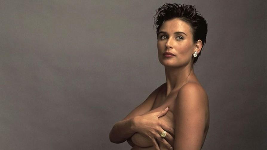 El desnudo de Demi Moore embarazada y por qué generó una revolución - Leo Barizzoni - No Toquen Nada | DelSol 99.5 FM