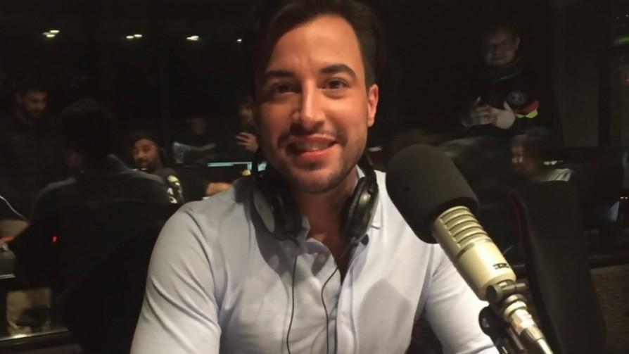 Fernando Cristino cumplió su promesa y nos visitó en estudios - Audios - Locos x el Fútbol | DelSol 99.5 FM