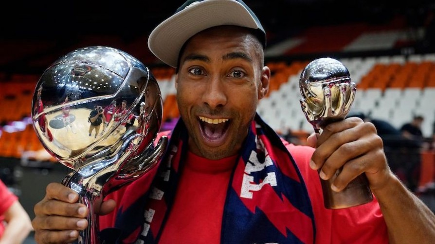Papá y campeón: Granger hizo historia en España - Alerta naranja: basket - 13a0 | DelSol 99.5 FM
