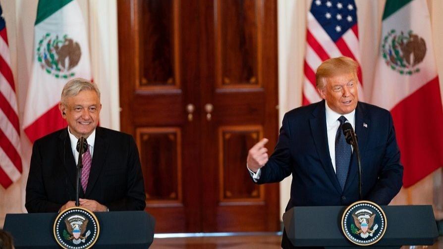 La amistad de Trump y AMLO según Darwin y el debate por la LUC de Bergara y Gandini - NTN Concentrado - No Toquen Nada | DelSol 99.5 FM