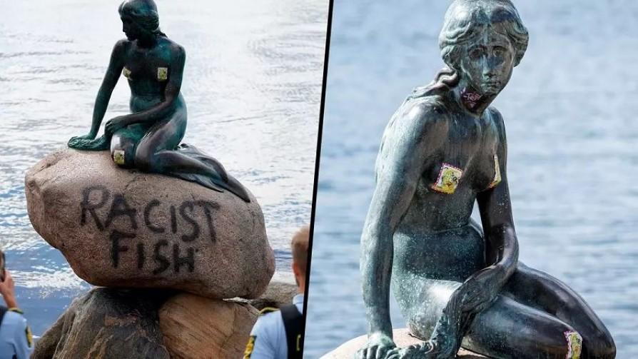 Sobre estatuas y derribos: desde Roma hasta La Sirenita - Gabriel Quirici - No Toquen Nada | DelSol 99.5 FM