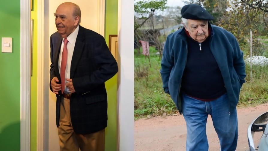 ¿Quién gana una carrera de una cuadra entre Mujica y Sanguinetti? - Sobremesa - La Mesa de los Galanes | DelSol 99.5 FM