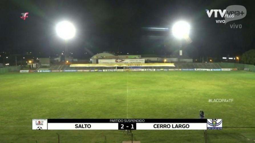 Rino Lucas nos da su version de la polémica entre Salto y Cerro Largo - Audios - Locos x el Fútbol | DelSol 99.5 FM