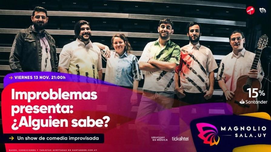 Sinsol promociona Improblemas el próximo 13 de noviembre en Magnolio Sala - Audios - Locos x el Fútbol | DelSol 99.5 FM